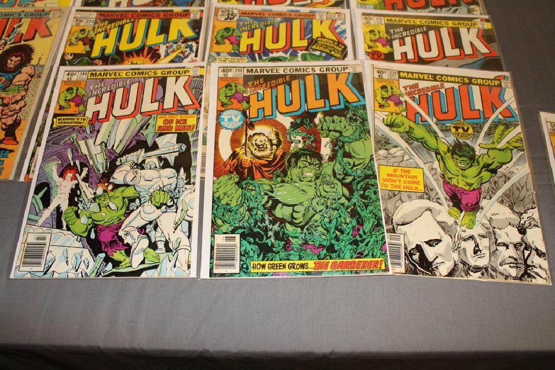 37 Incredible Hulk comics - 3
