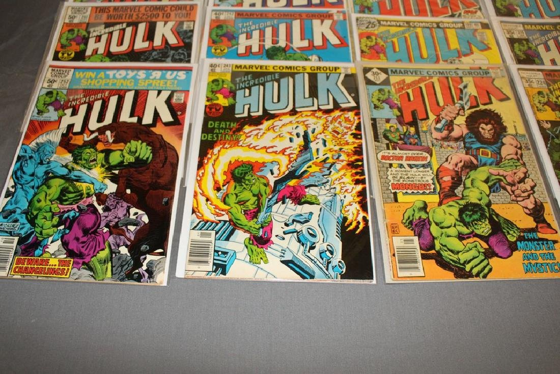 37 Incredible Hulk comics - 4