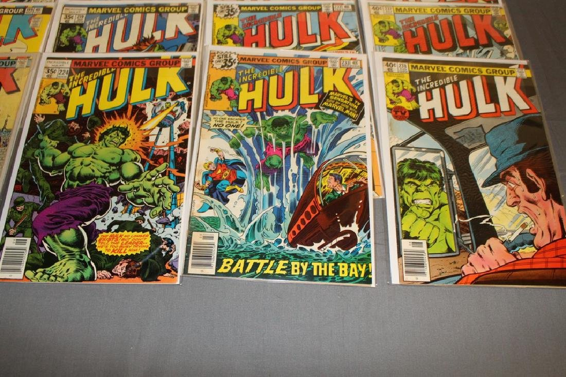 37 Incredible Hulk comics - 5