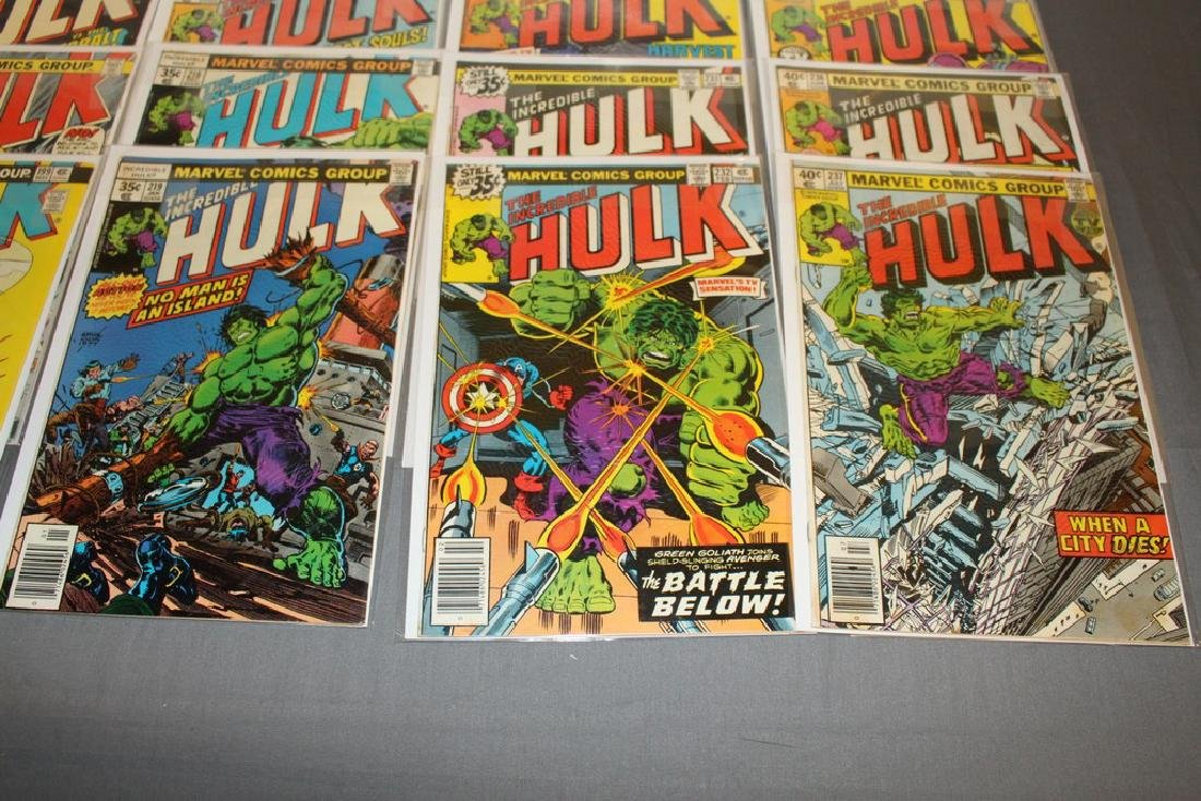 37 Incredible Hulk comics - 6