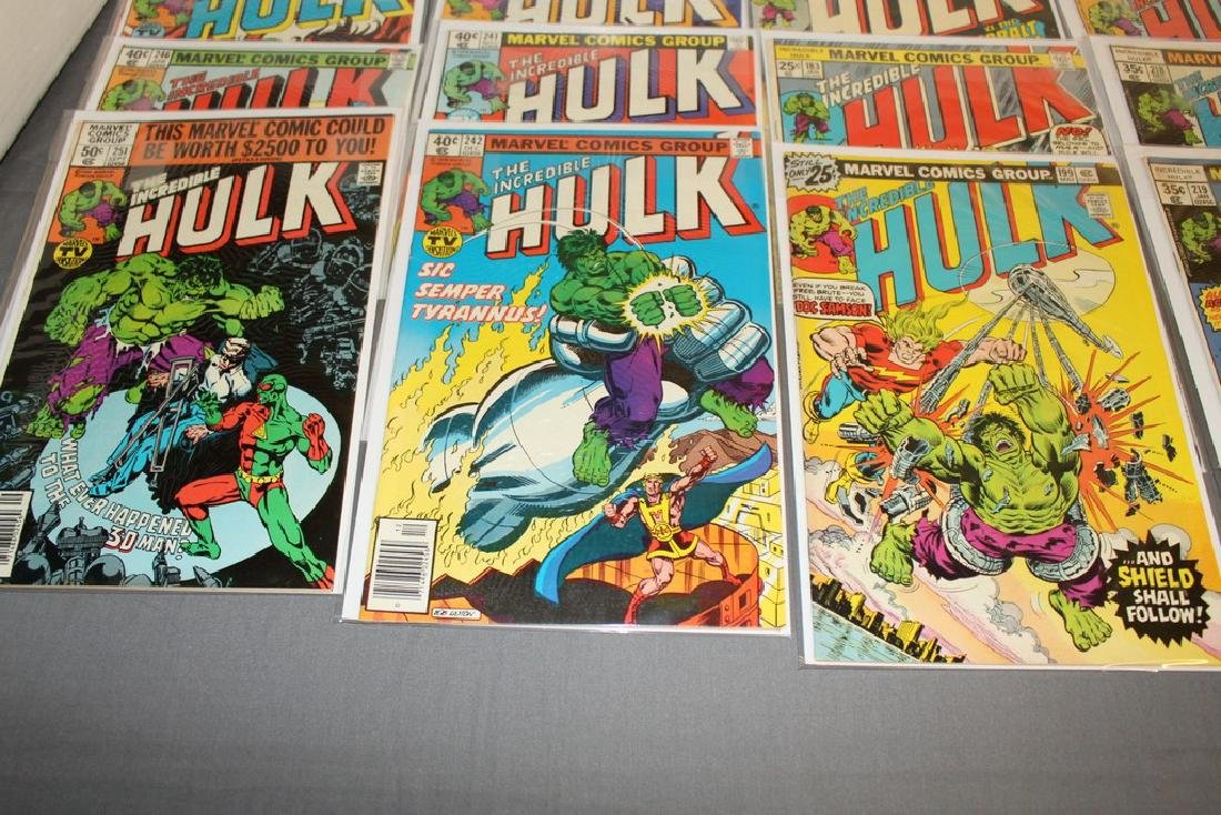 37 Incredible Hulk comics - 7