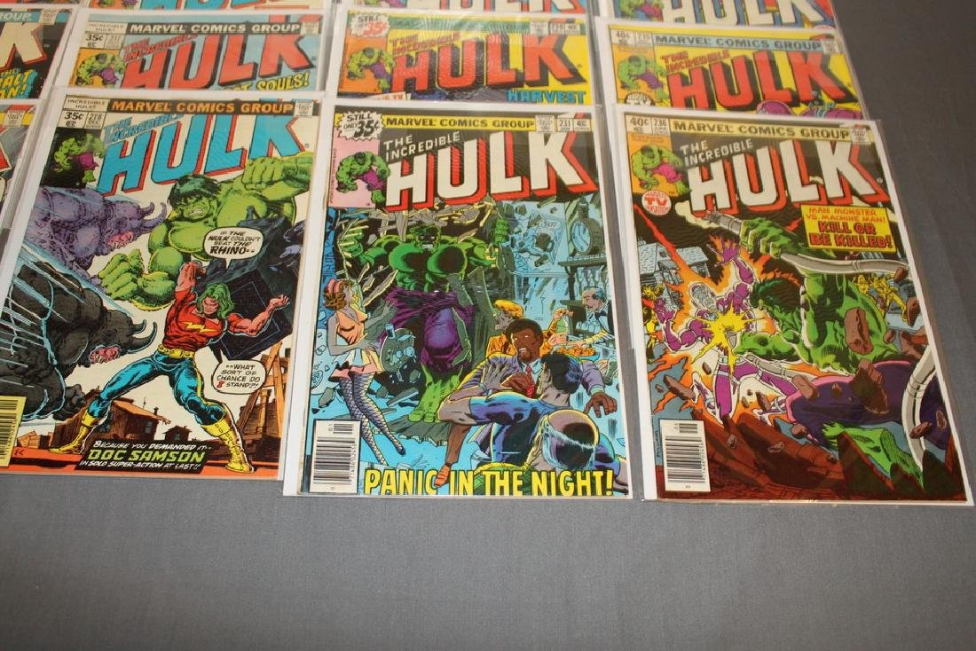 37 Incredible Hulk comics - 8