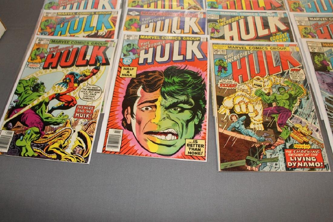 37 Incredible Hulk comics - 9