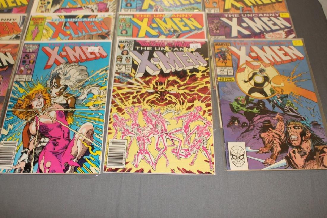 45 comics, X-Men 1st series #179-309 - 12