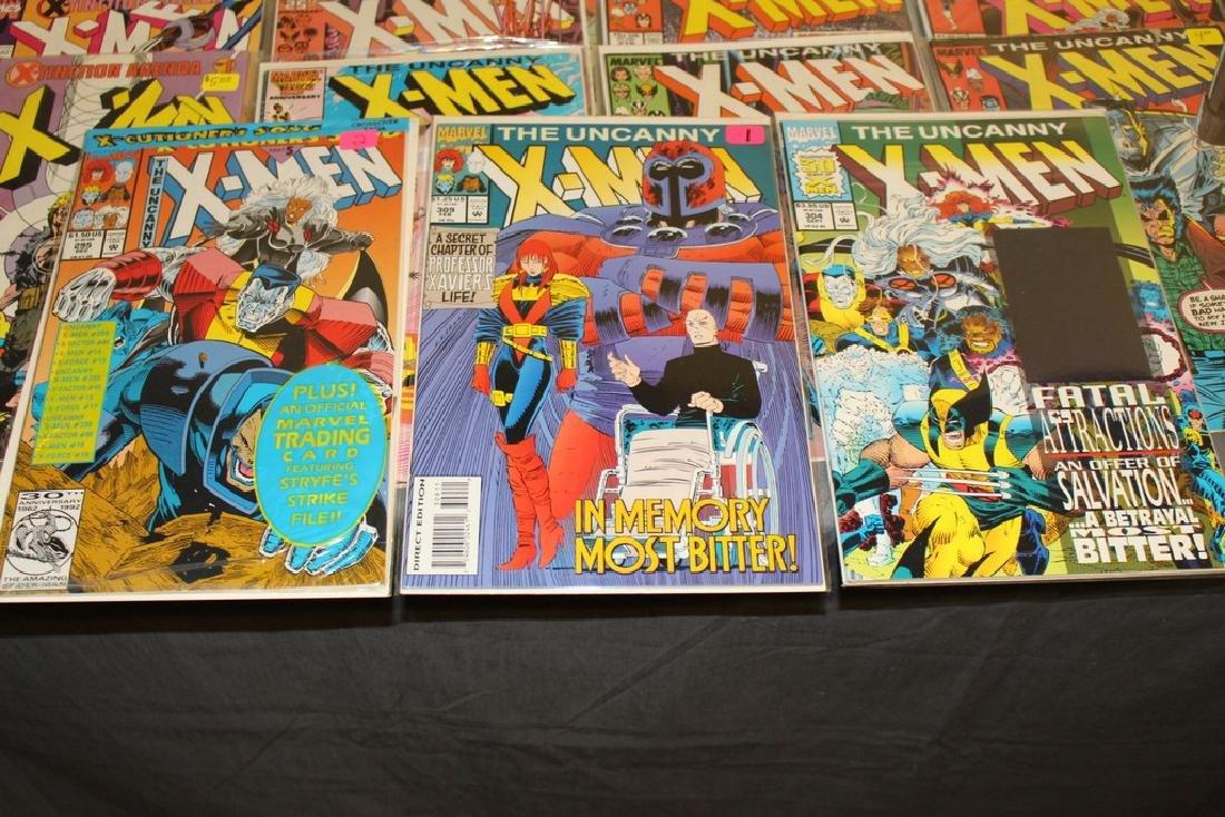 45 comics, X-Men 1st series #179-309 - 2