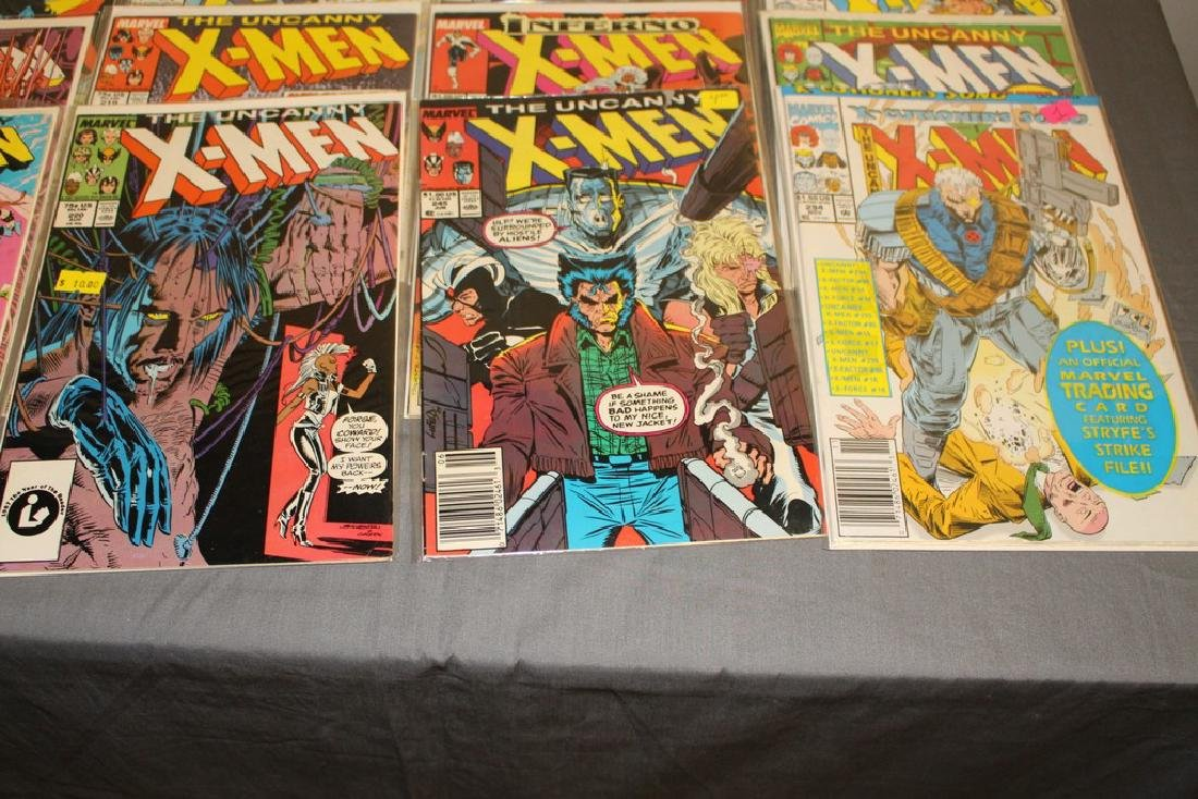 45 comics, X-Men 1st series #179-309 - 4
