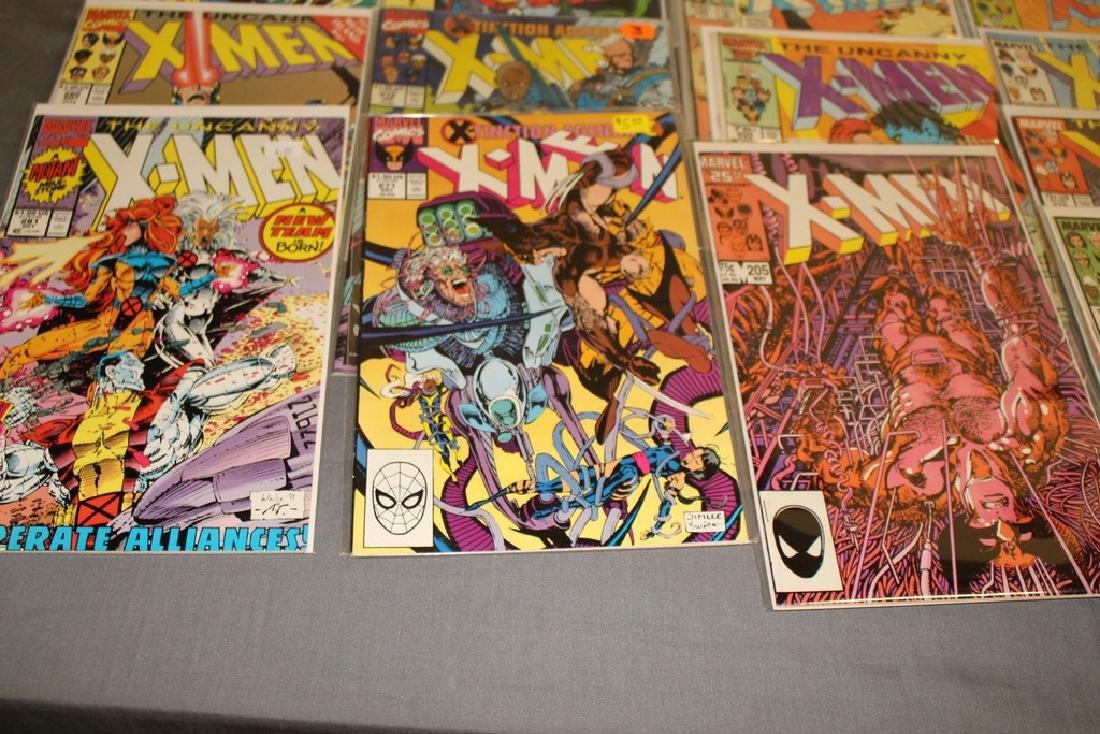 45 comics, X-Men 1st series #179-309 - 5