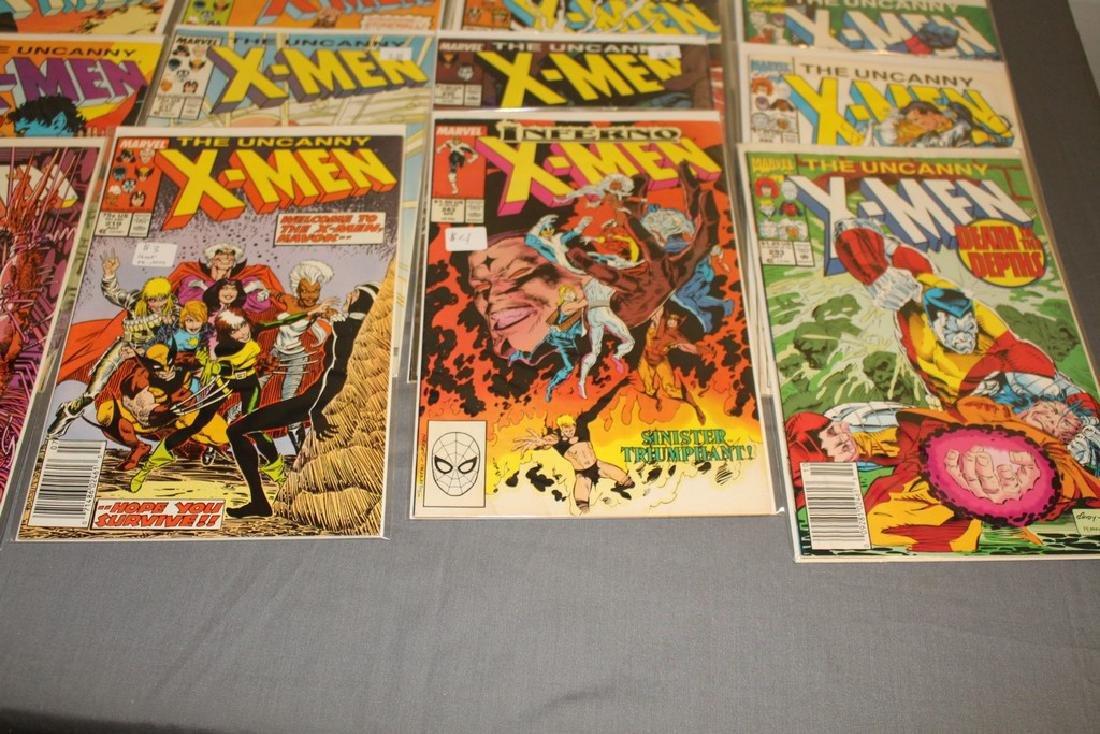 45 comics, X-Men 1st series #179-309 - 7