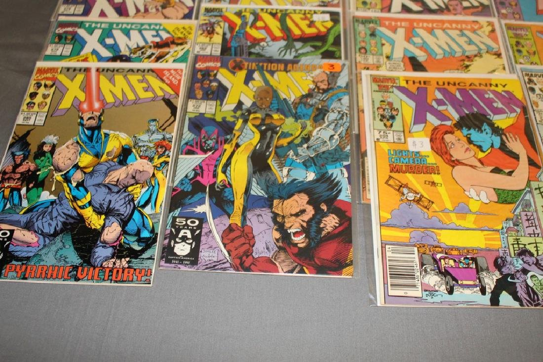 45 comics, X-Men 1st series #179-309 - 8