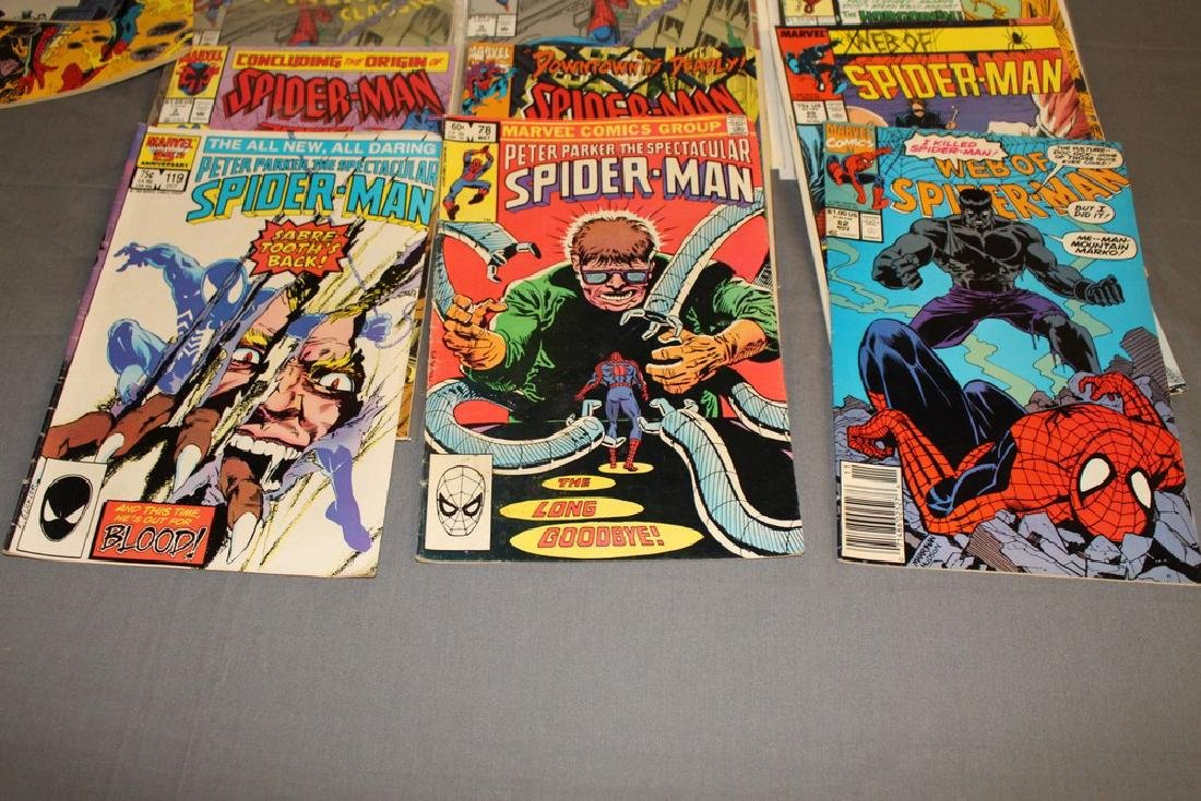 48 Spiderman Comics, nice variety - 12