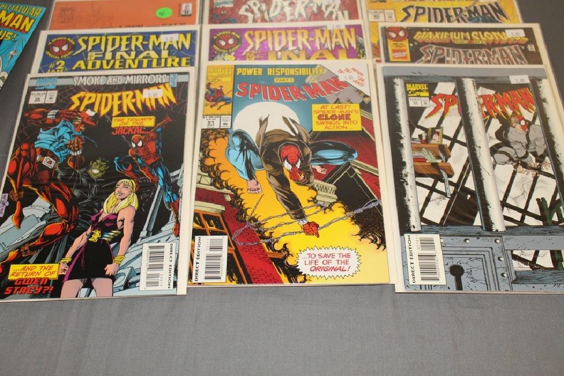 48 Spiderman Comics, nice variety - 15