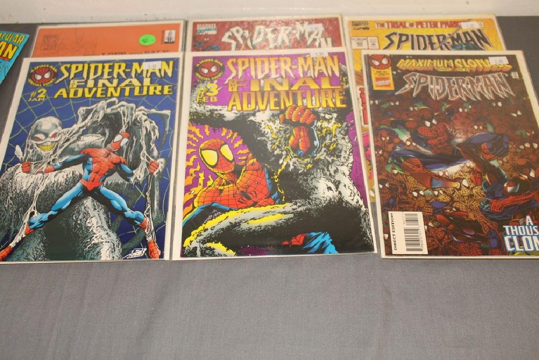 48 Spiderman Comics, nice variety - 16