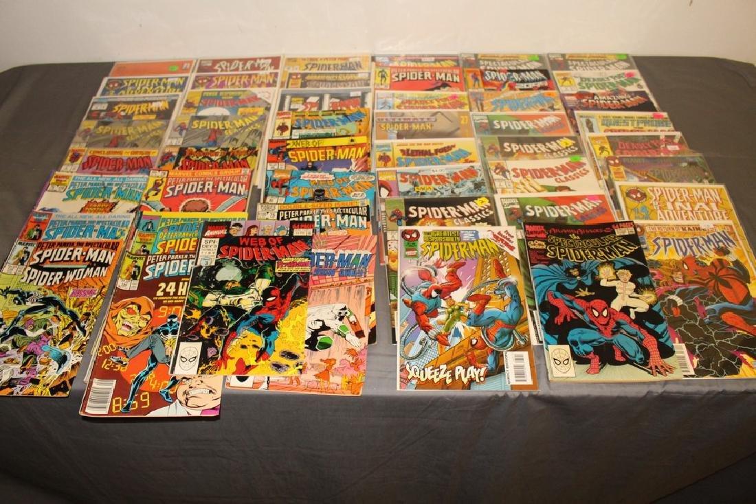 48 Spiderman Comics, nice variety