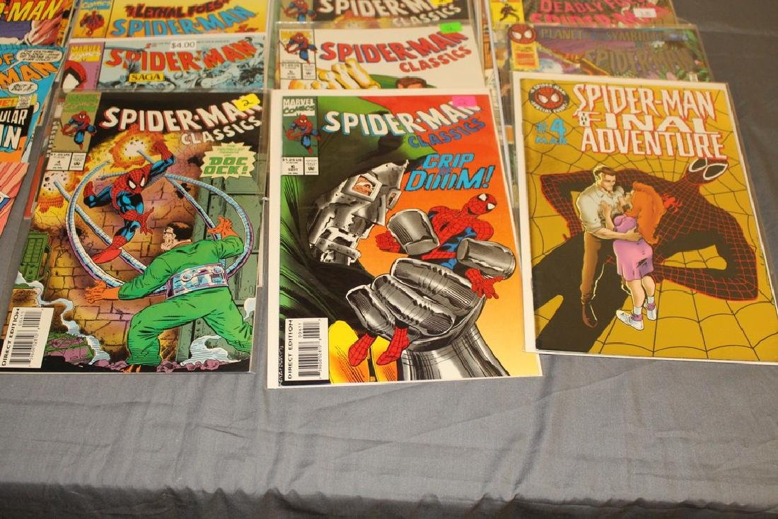 48 Spiderman Comics, nice variety - 3