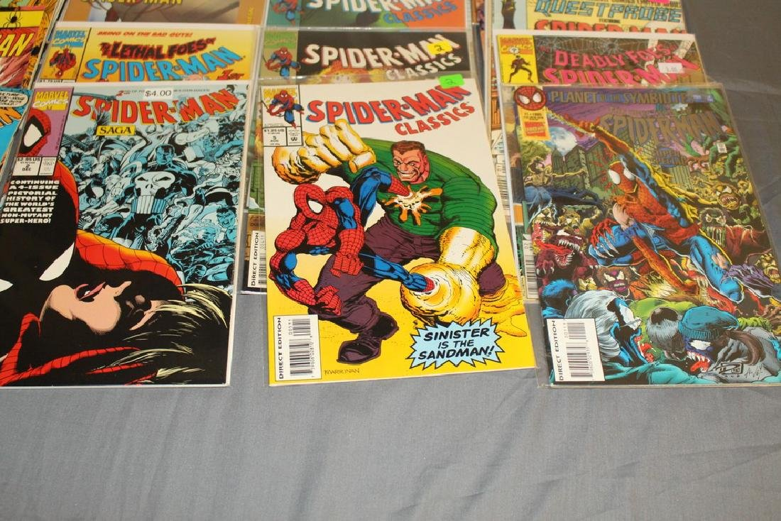 48 Spiderman Comics, nice variety - 4