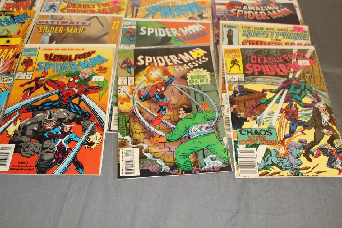 48 Spiderman Comics, nice variety - 5