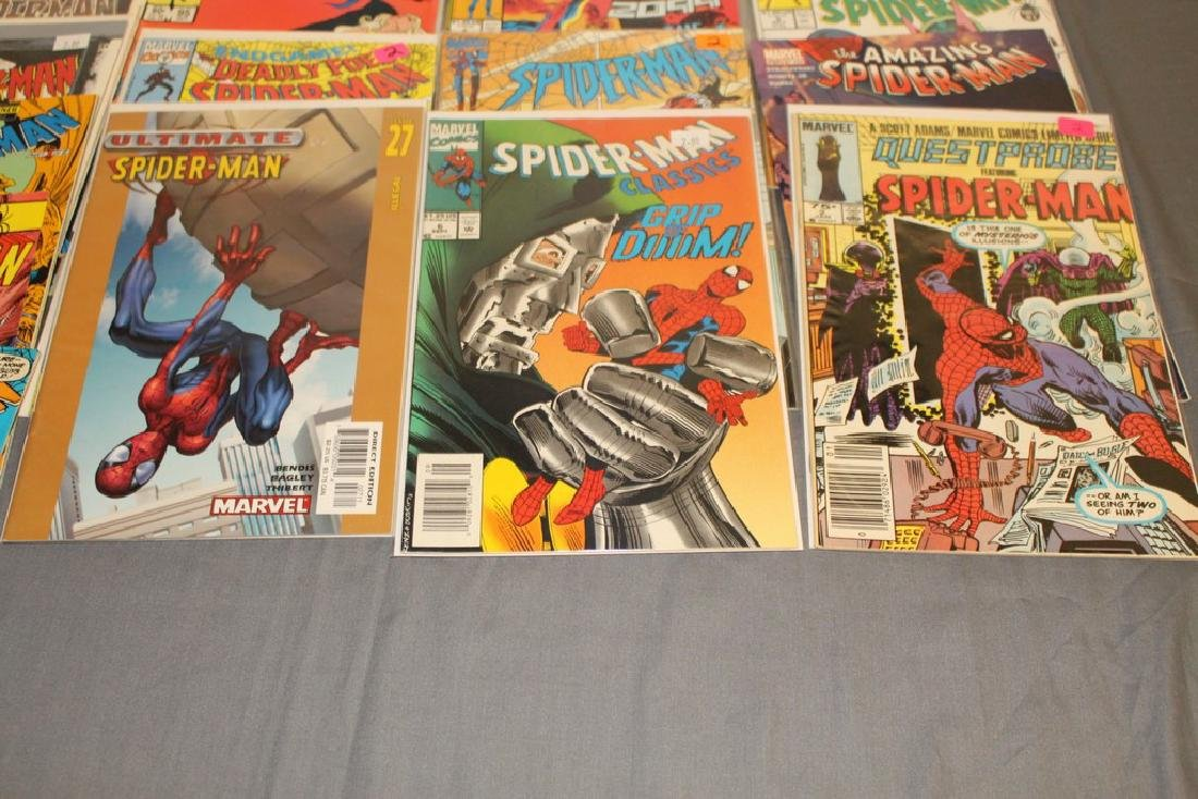 48 Spiderman Comics, nice variety - 6