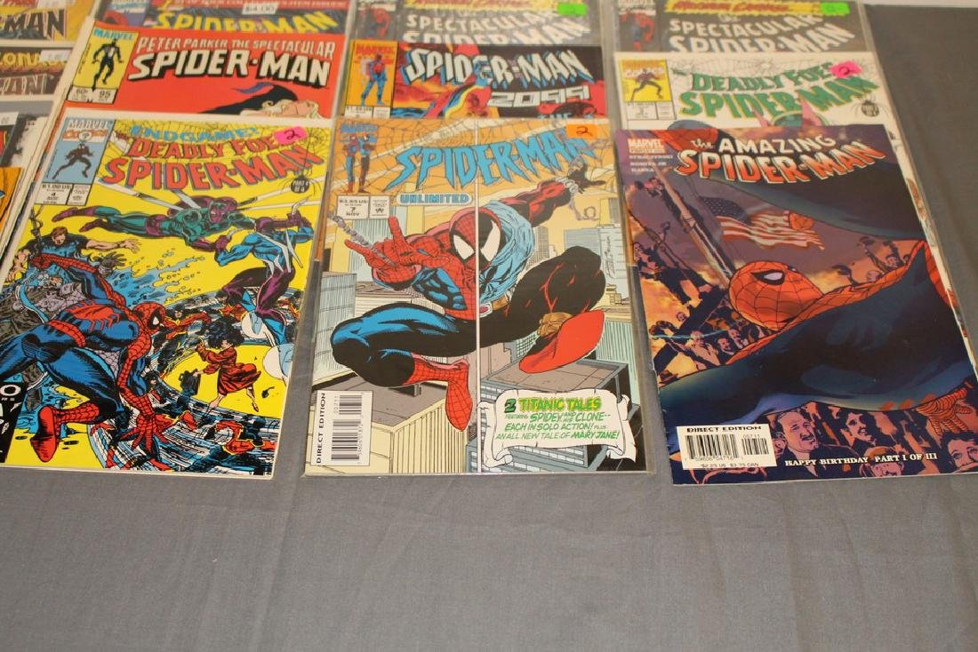 48 Spiderman Comics, nice variety - 7