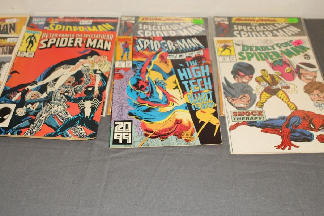 48 Spiderman Comics, nice variety - 8
