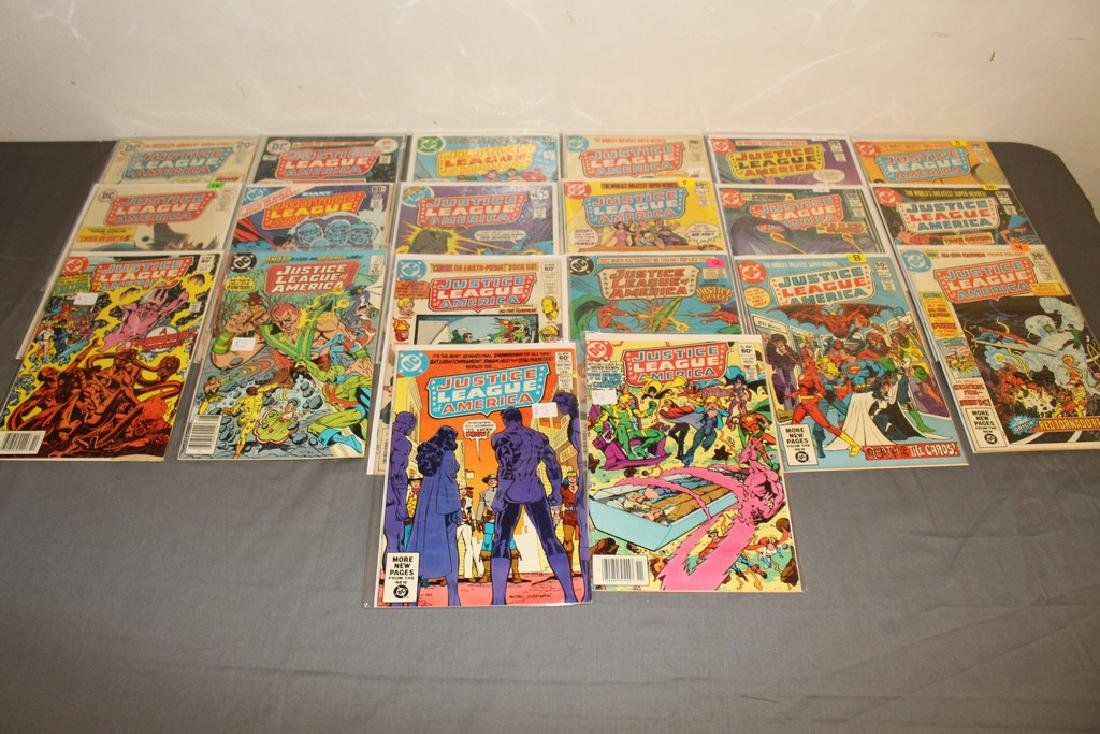 19 comics, Justice League of America