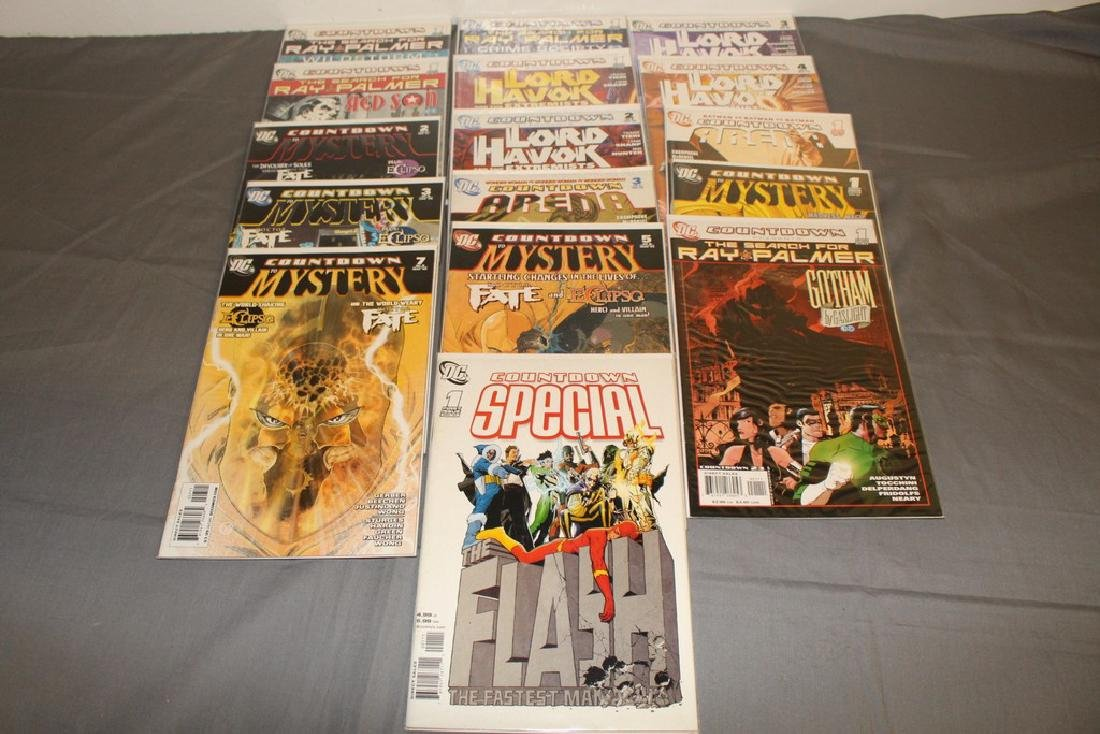 16 comics, Countdown Presents-Ray PalmerÂ….