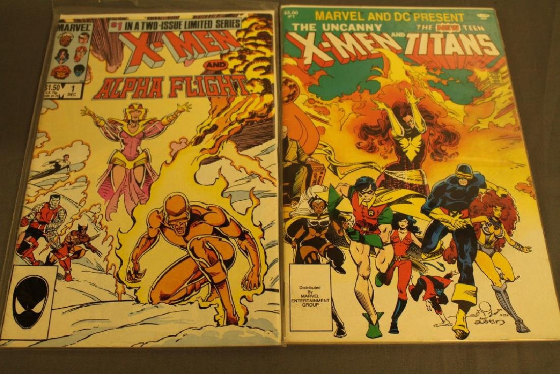 X-Men & Alpha Flight #1 & Uncanny X-Men