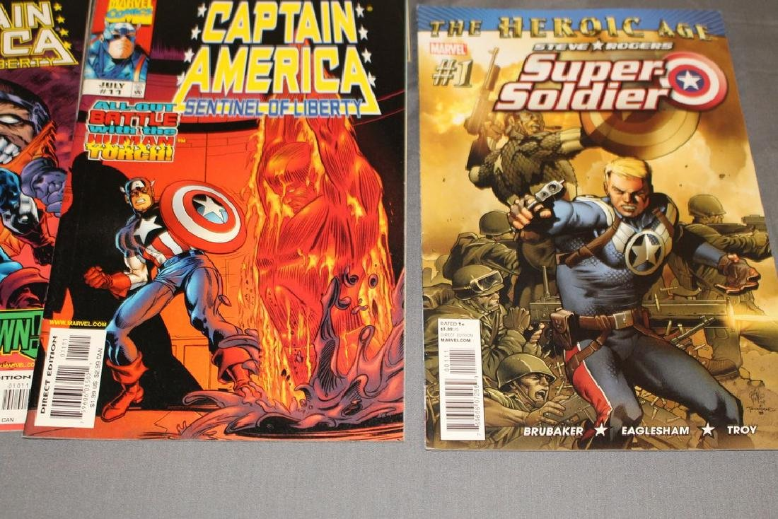 Ultimate Captain America, Super Soldier - 3