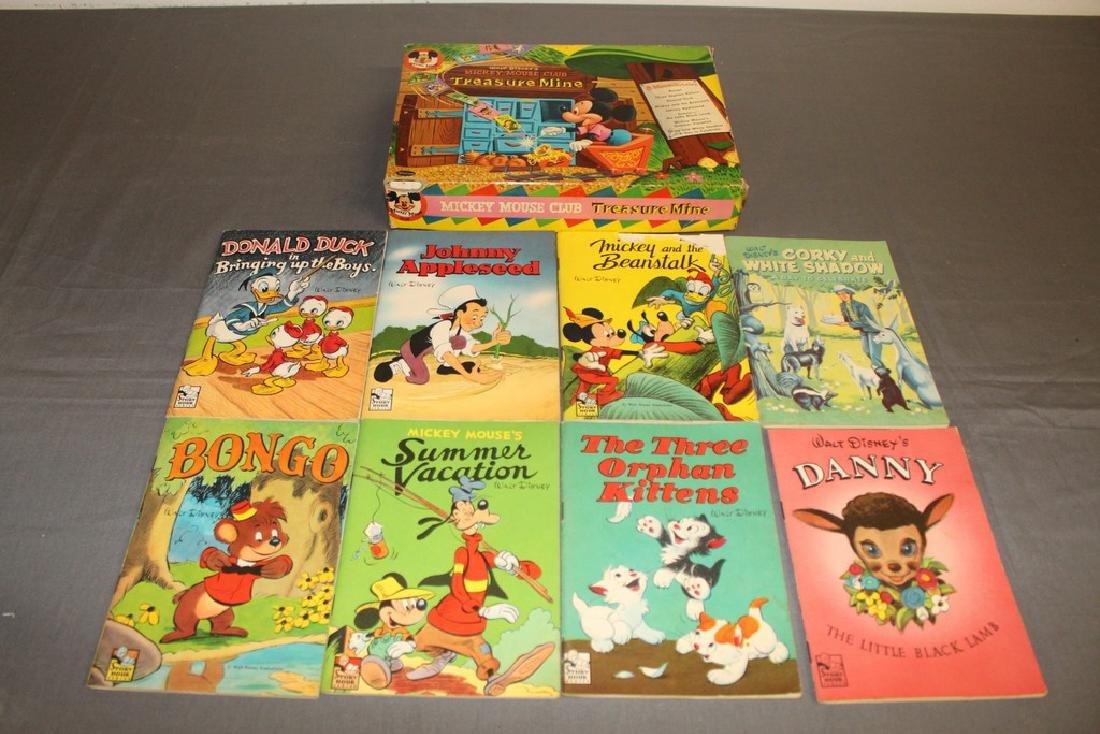 boxed set Mickey Mouse Treasure Mine, 1940/50's 8 books