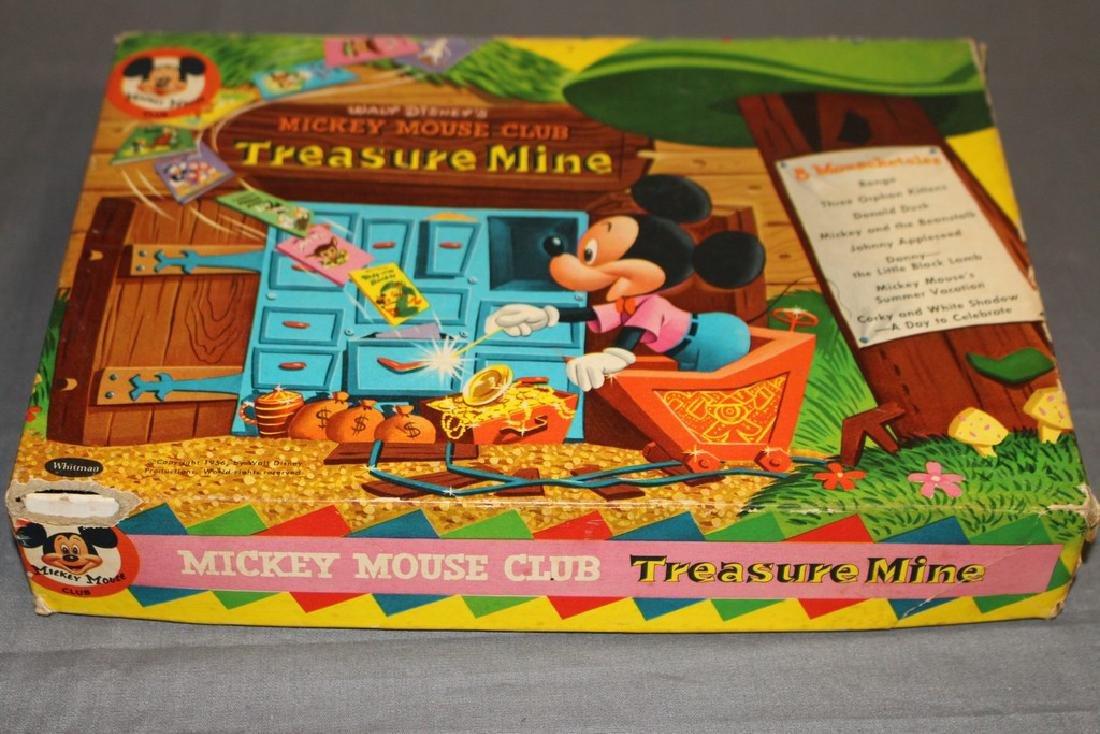 boxed set Mickey Mouse Treasure Mine, 1940/50's 8 books - 2