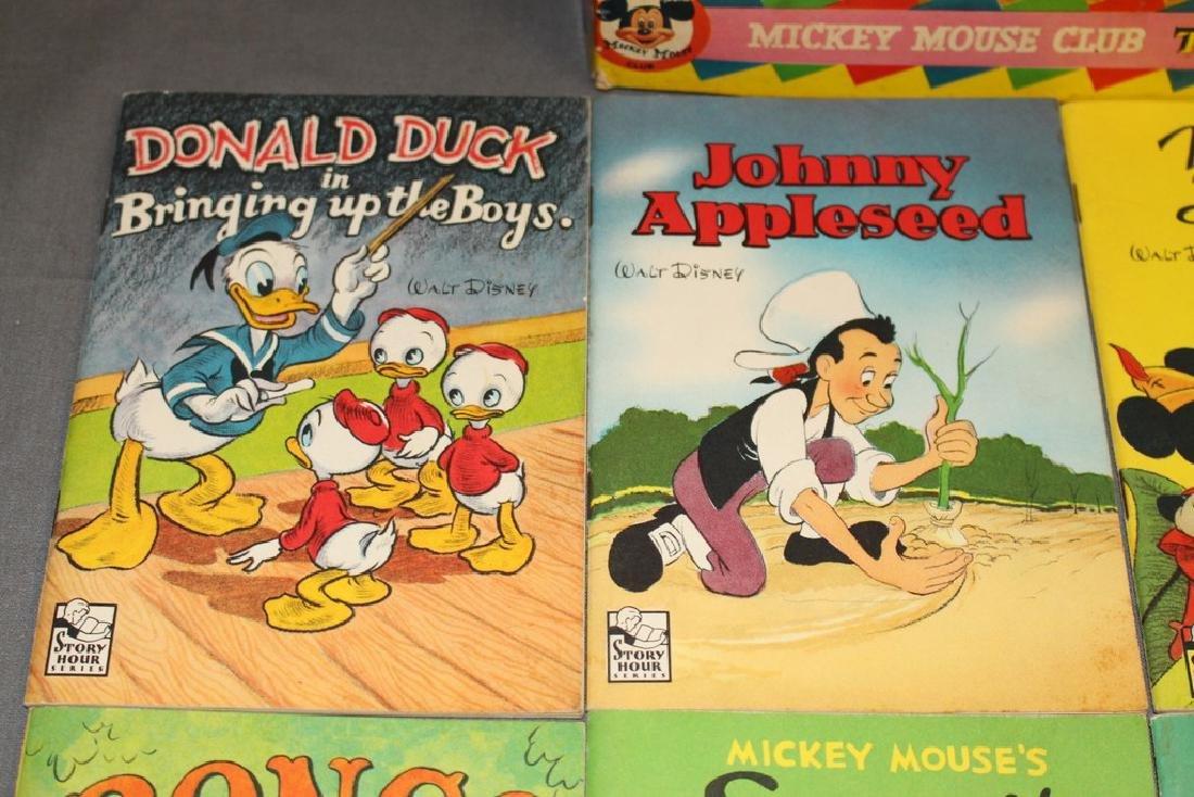 boxed set Mickey Mouse Treasure Mine, 1940/50's 8 books - 3