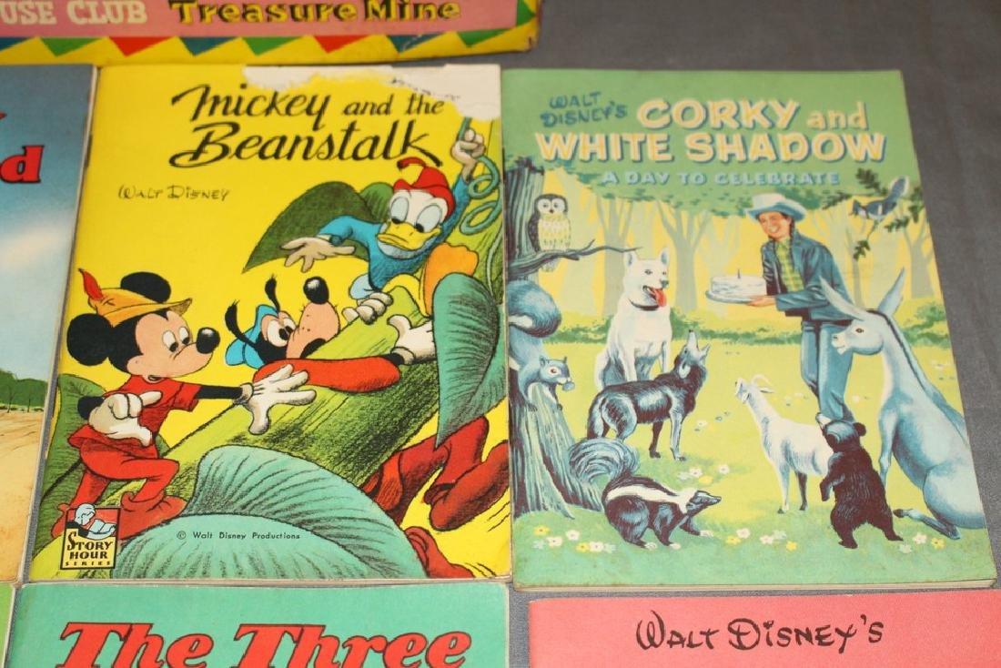 boxed set Mickey Mouse Treasure Mine, 1940/50's 8 books - 4