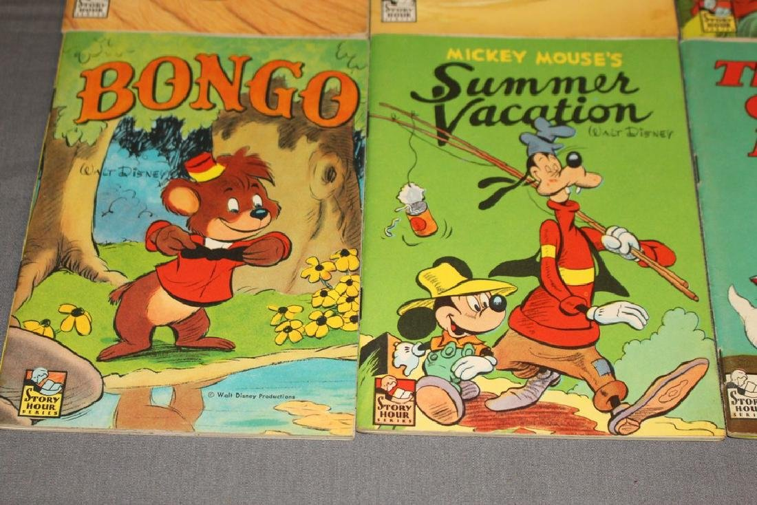 boxed set Mickey Mouse Treasure Mine, 1940/50's 8 books - 6