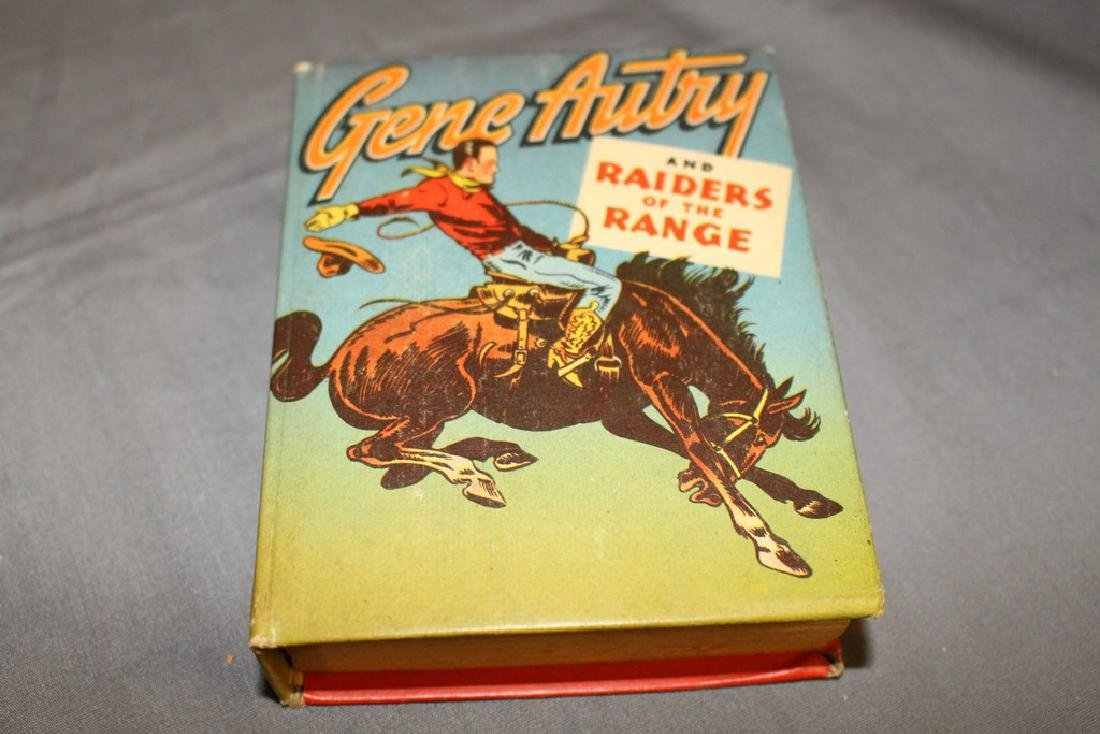 Big Little Book Gene Autry & Raiders
