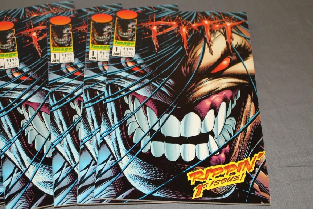 Pitt #1 comic, 1993 image, 12 near mint copies - 2