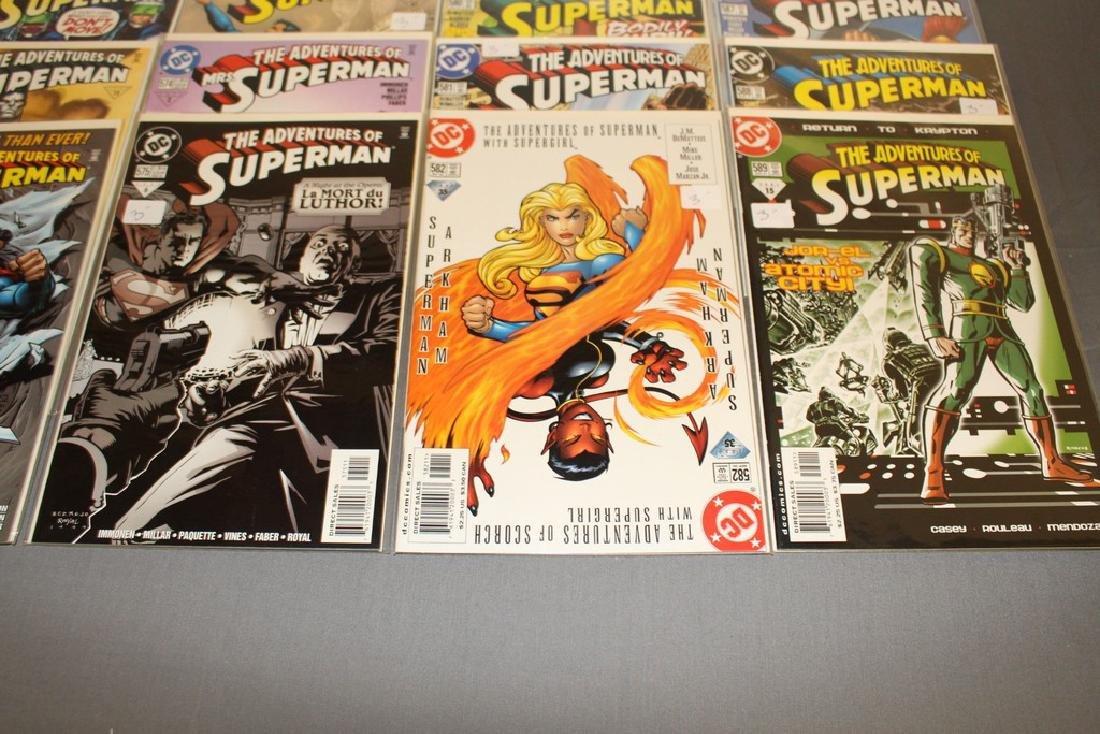 45 comics, Adventure of Superman#558-602 - 10