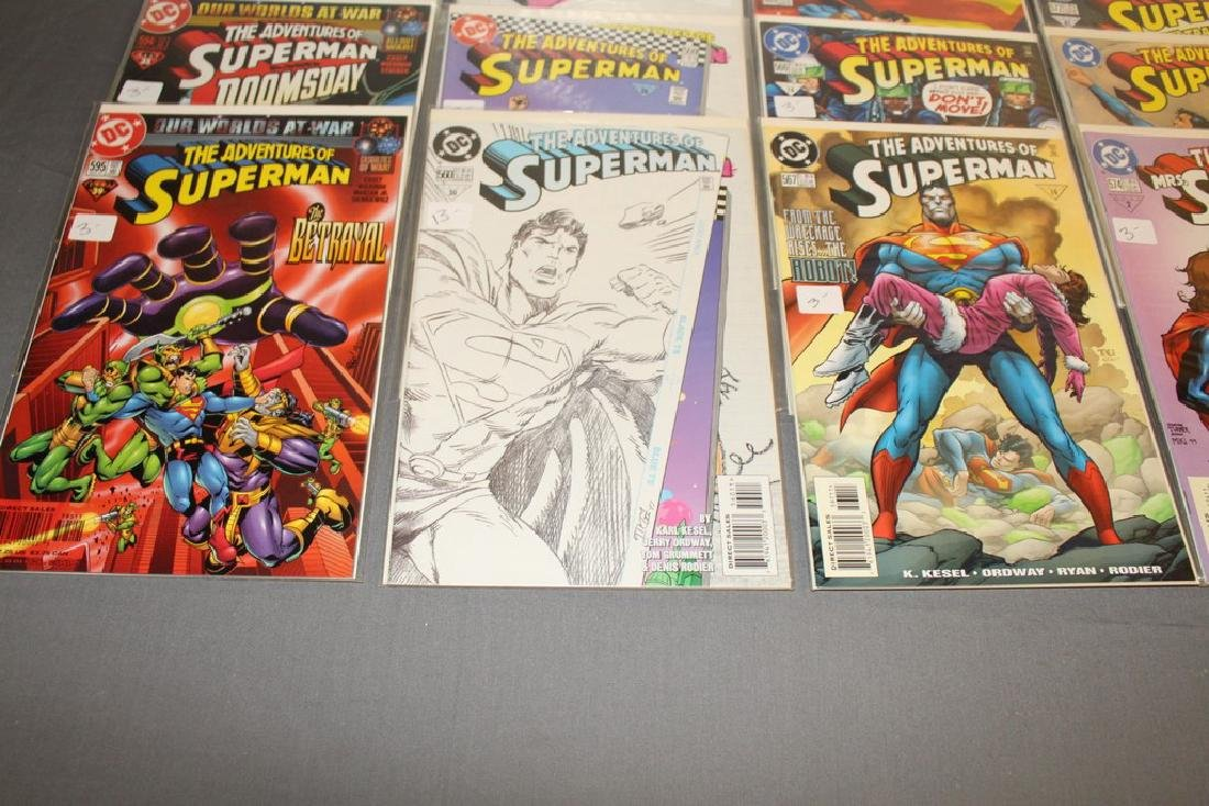 45 comics, Adventure of Superman#558-602 - 11