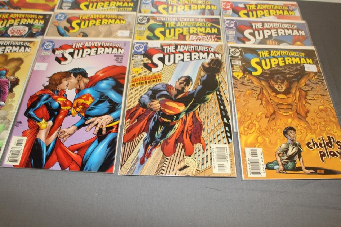 45 comics, Adventure of Superman#558-602 - 12