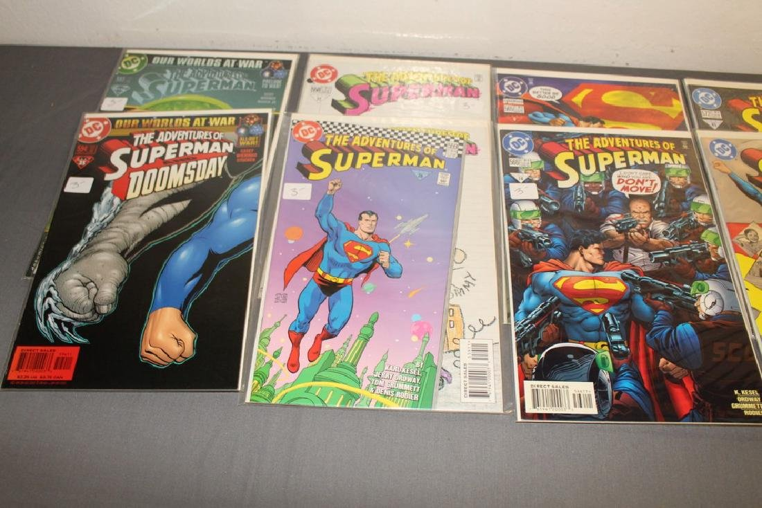 45 comics, Adventure of Superman#558-602 - 14