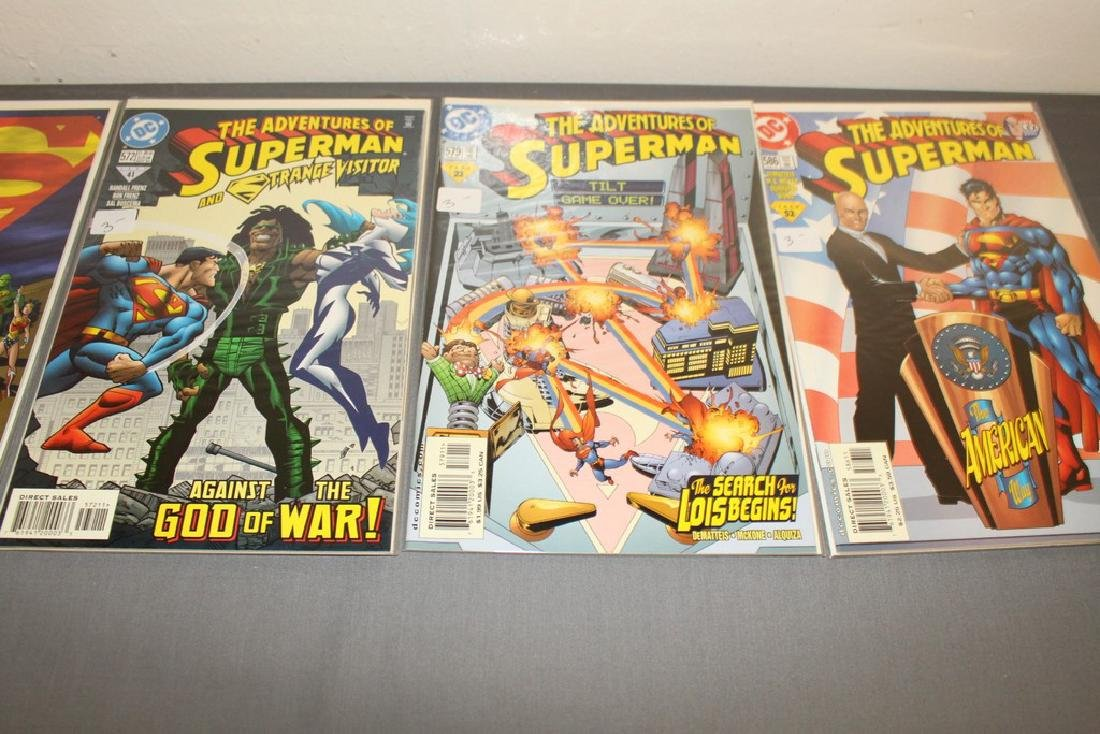45 comics, Adventure of Superman#558-602 - 16