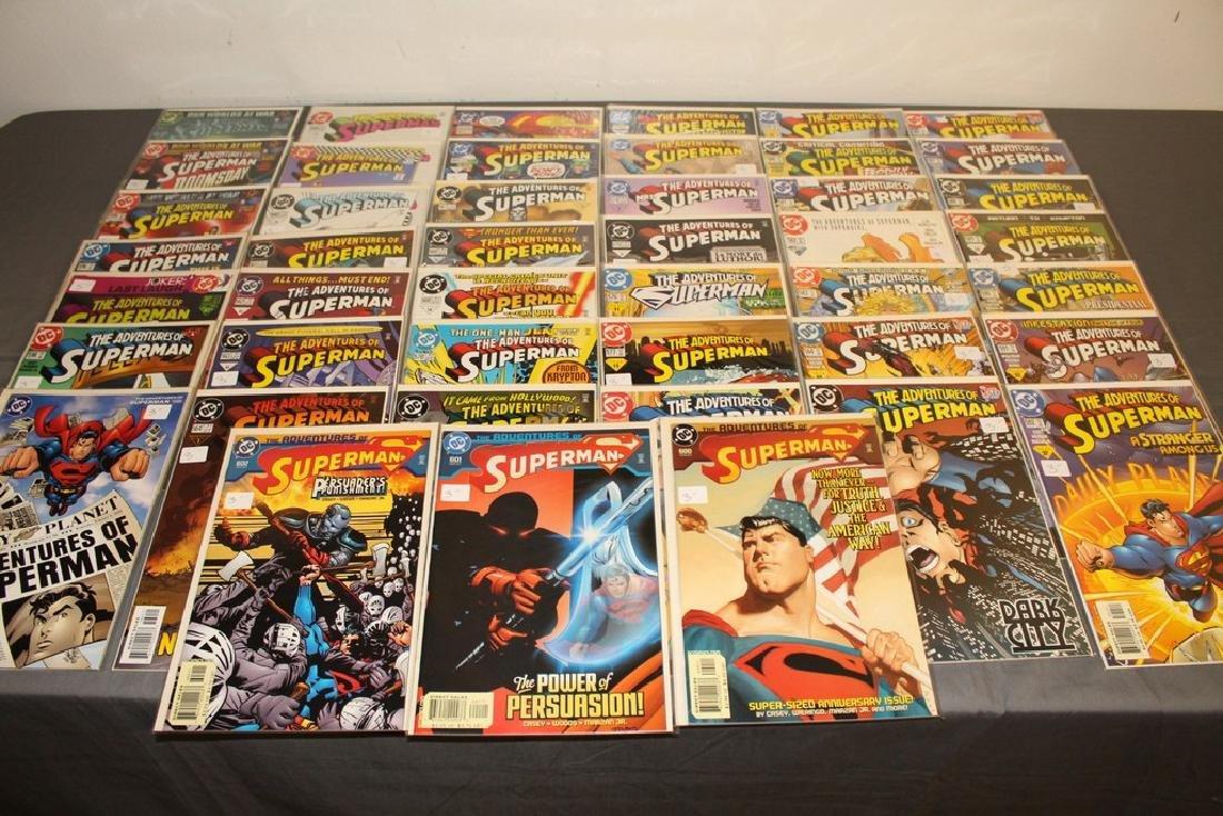 45 comics, Adventure of Superman#558-602