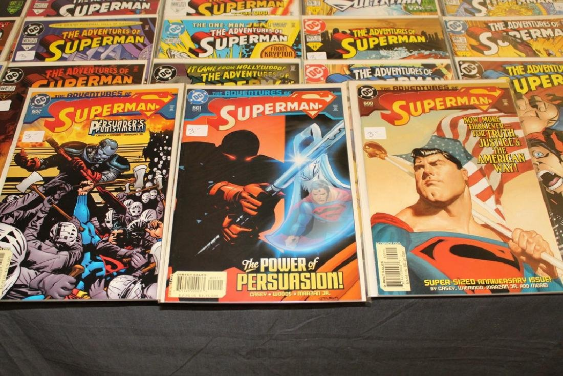 45 comics, Adventure of Superman#558-602 - 2