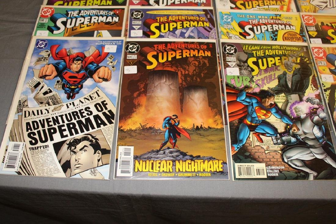 45 comics, Adventure of Superman#558-602 - 3