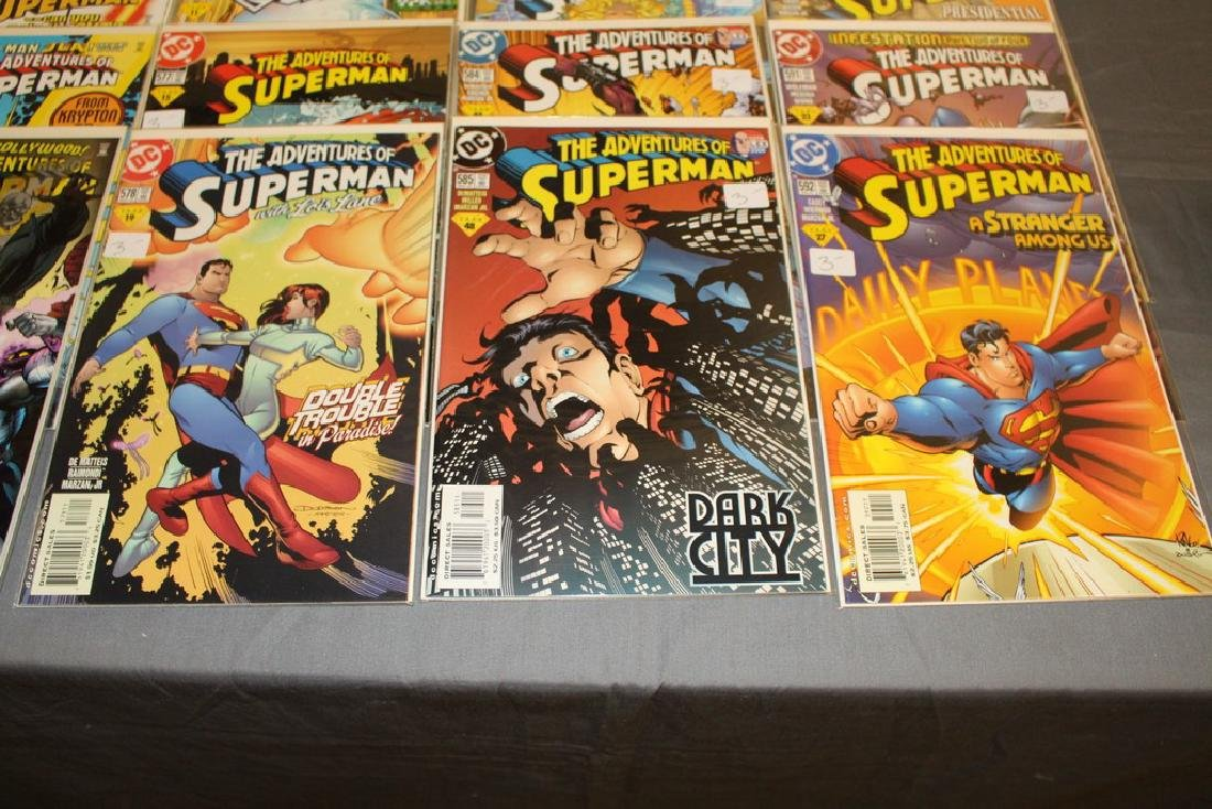 45 comics, Adventure of Superman#558-602 - 4