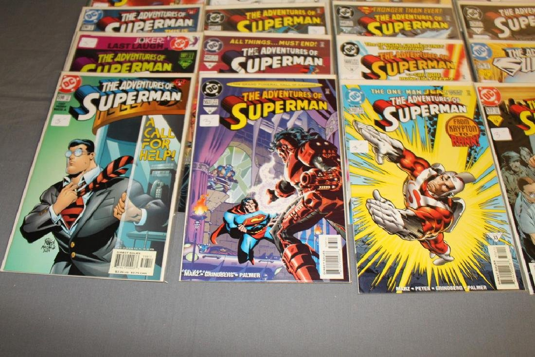 45 comics, Adventure of Superman#558-602 - 5