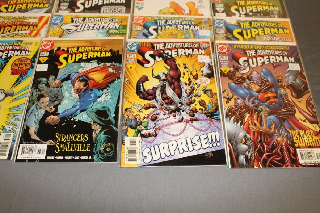 45 comics, Adventure of Superman#558-602 - 6
