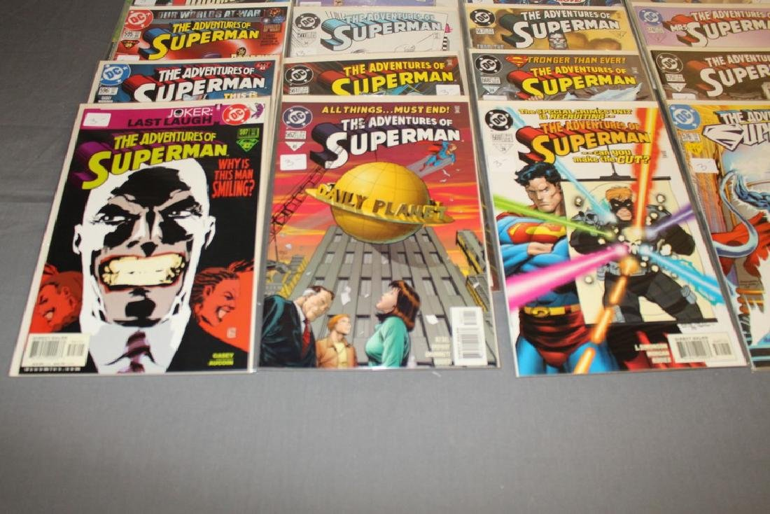 45 comics, Adventure of Superman#558-602 - 7