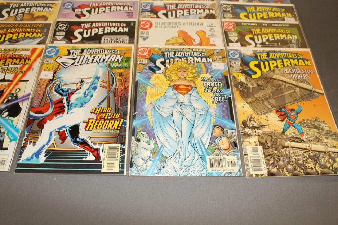 45 comics, Adventure of Superman#558-602 - 8