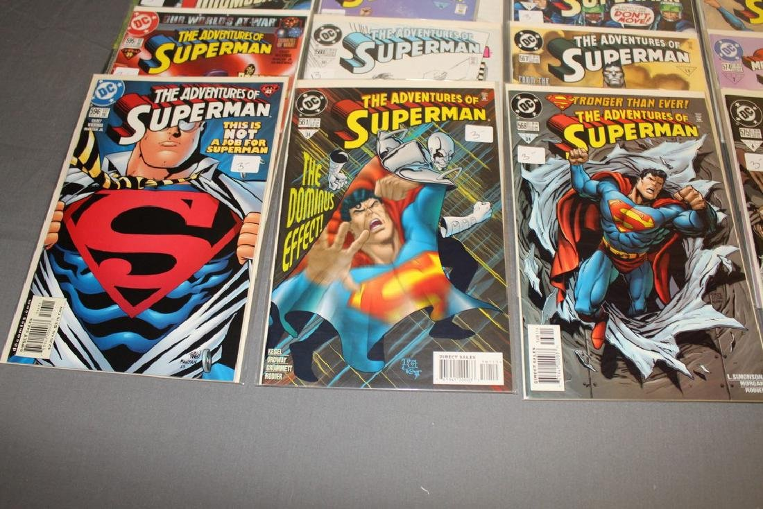45 comics, Adventure of Superman#558-602 - 9