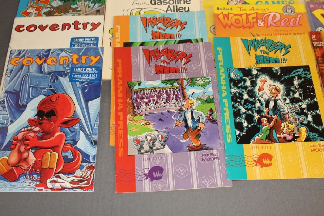 54 comics, various #1's & others, wide variety - 12