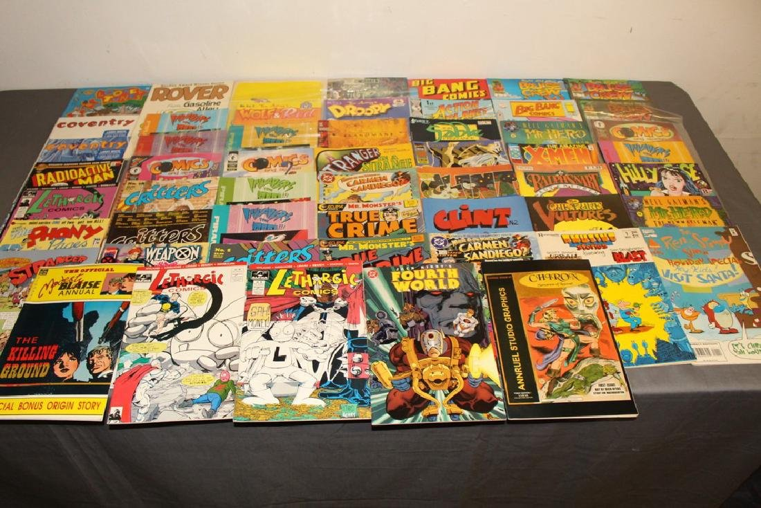 54 comics, various #1's & others, wide variety